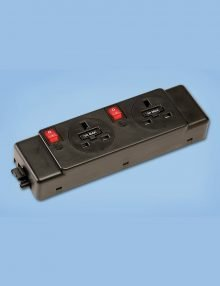 Underdesk-Power-Unit---2-Power-Sockets