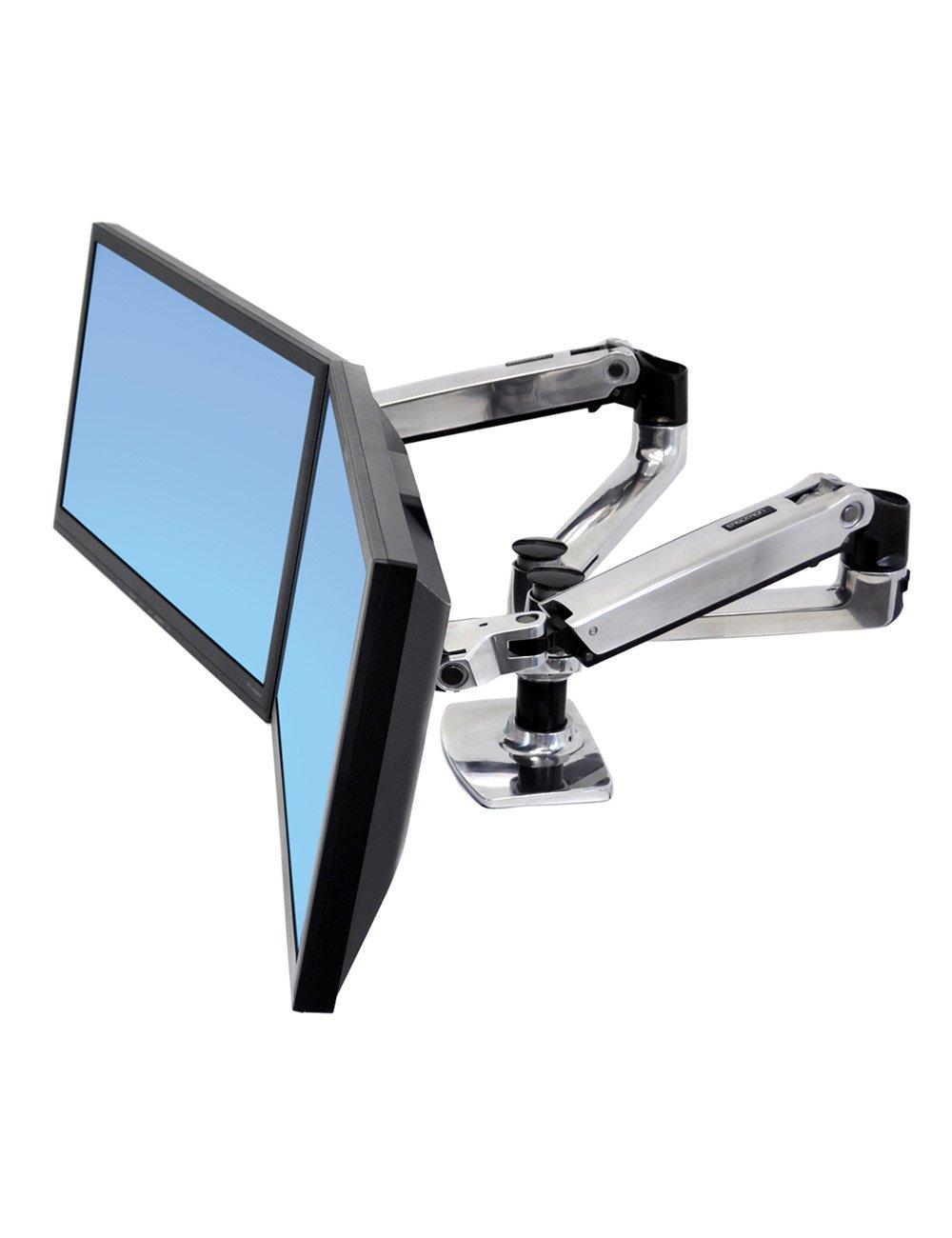 Ergotron Lx Dual Desk Mount Arm Online Ergonomics