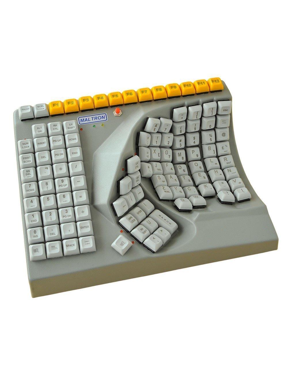 maltron single handed keyboard online ergonomics. Black Bedroom Furniture Sets. Home Design Ideas
