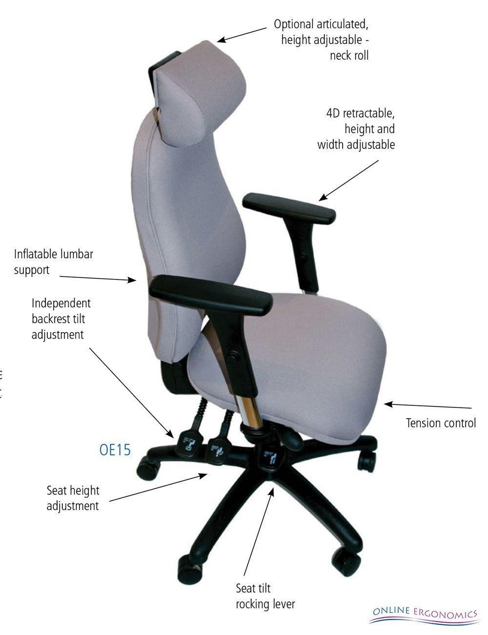 Oe15 ergonomic chair online ergonomics for Ergonomic chair