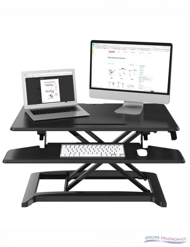 Sit Stand Desktop Solutions Online Ergonomics